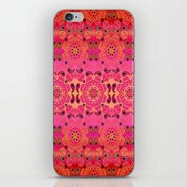 Pink Haze Bandana Ombre' Stripe iPhone Skin