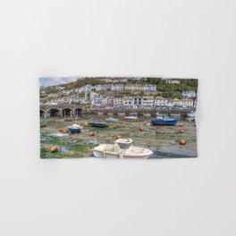 Looe bridge and boats  Hand & Bath Towel