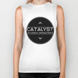 Catalyst Student Ministries - Black Biker Tank