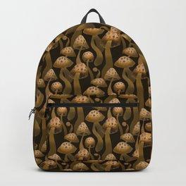 Shrooms Pattern Backpack