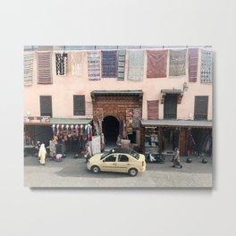 Moroccan Street Metal Print