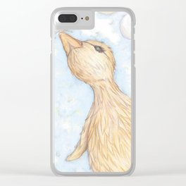 Duckie Clear iPhone Case