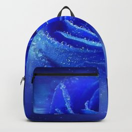 Blue Rose of the Universe Backpack
