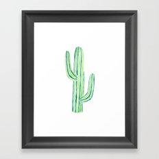 saguaro cactus Framed Art Print