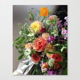 Flower Design 11 Canvas Print