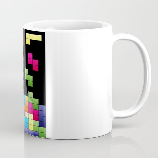 Tetris Troubles. Mug