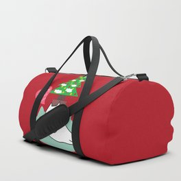 New account cat Christmas tree by prosperousvs 480 Duffle Bag