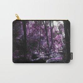 Blissfield Creek in Purple Carry-All Pouch