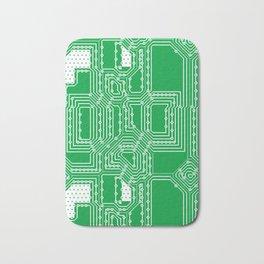 Computer board pattern Bath Mat