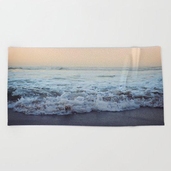 Crash into Me Beach Towel