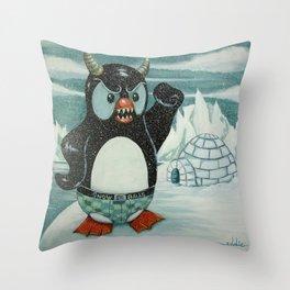 Stay Offa My Iceberg . . . Throw Pillow