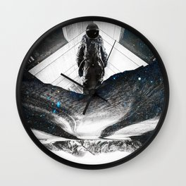 Astronaut Isolation Wall Clock