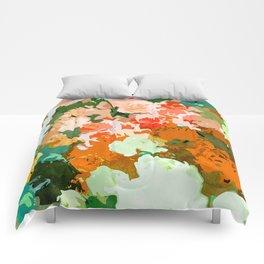 Velvet Floral Comforters