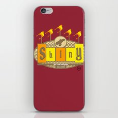 Lets be Bad guys iPhone & iPod Skin
