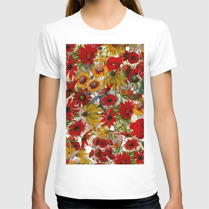 Vintage & Shabby Chic - Colorful End Of The Summer T-shirt
