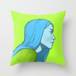 tw characters color mix #3 Throw Pillow