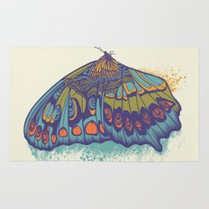 Butterfly Life Cycle Rug