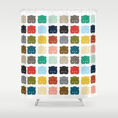 Bears, Bears, Bears Shower Curtain