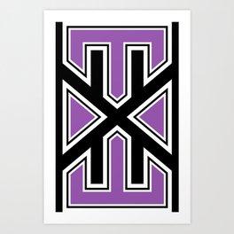 varsity.exe Art Print
