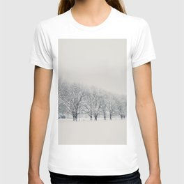 a snow day in Cambridge T-shirt