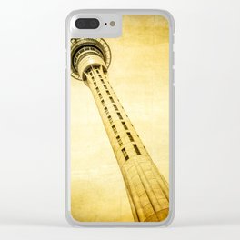 Sky Tower Auckland Clear iPhone Case