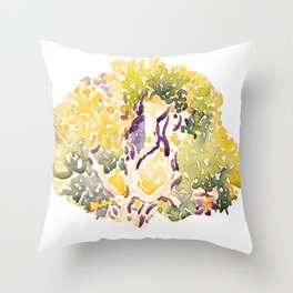 Spirit of tree - Spring Throw Pillow