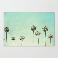 palm Canvas Prints featuring Palm Trees  by Bree Madden