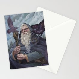 The Whispers of Ravens Stationery Cards