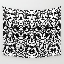 Rorschach madness Wall Tapestry