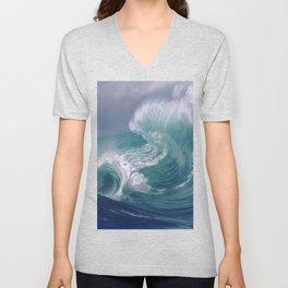 wave Unisex V-Neck