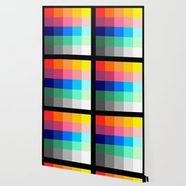 ART / ARTIST: Color Palette Wallpaper