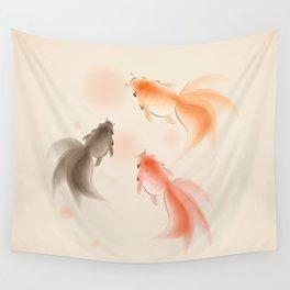Goldfish 001 Wall Tapestry