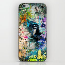 Artistic OI  - Albert Einstein II iPhone Skin
