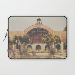 all the colours & curves of the botanical building in Balboa Park, San Diego Laptop Sleeve