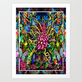 """Incense & Peppermint"" Art Print"
