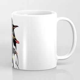 Penguins of Antarctica (vertical) Coffee Mug