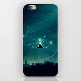 Wireless Camping iPhone Skin