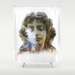 Angel & Nature Shower Curtain