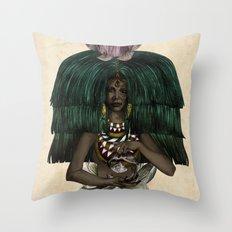 P I S C E S - Colour Version Throw Pillow