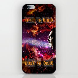Truth Is Blind iPhone Skin
