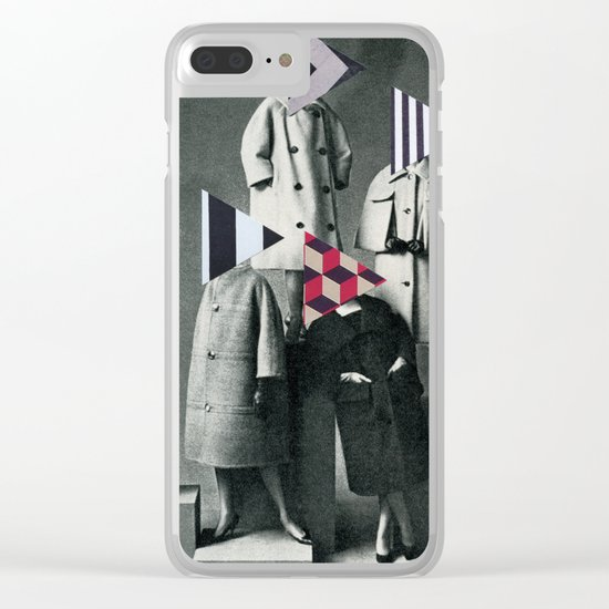 Fashion Forward Clear iPhone Case