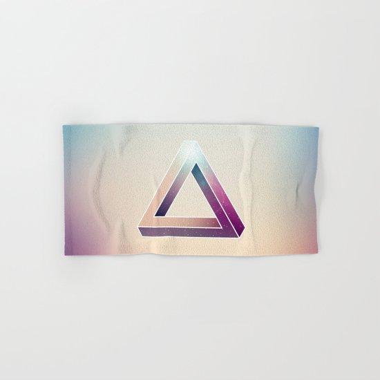 Penrose Triangular Universe Hand & Bath Towel
