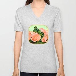 Begonia Unisex V-Neck