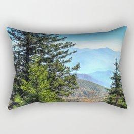 Blue Ridge Mountains North Carolina Rectangular Pillow