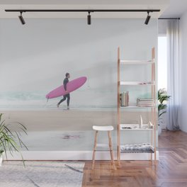 surfing beach vibes Wall Mural