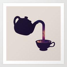 Cuppa Galaxy Art Print