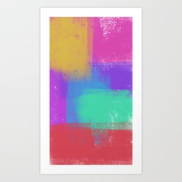 Life in color Art Print