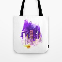 THE CITY THAT NEVER SLEEPS Tote Bag