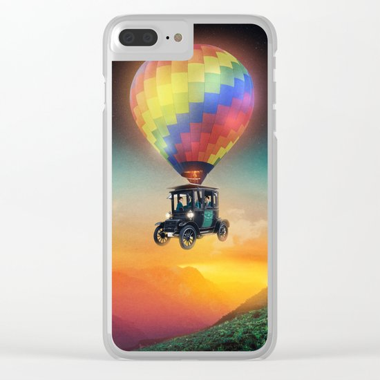 Off Road Clear iPhone Case
