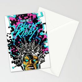 FEAR OF A BLACK KIRBY Stationery Cards